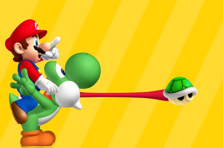 Liven up your Desktop with Mario & Yoshi!