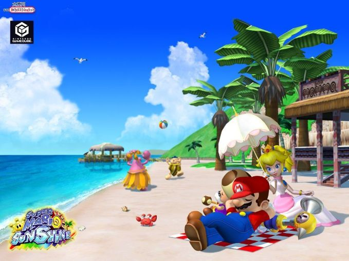 Artwork of Mario Sunshine