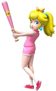 "Princess Peach… I'd ""tap"" that."
