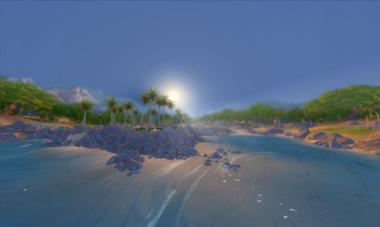 An image displaying the new beach mod.