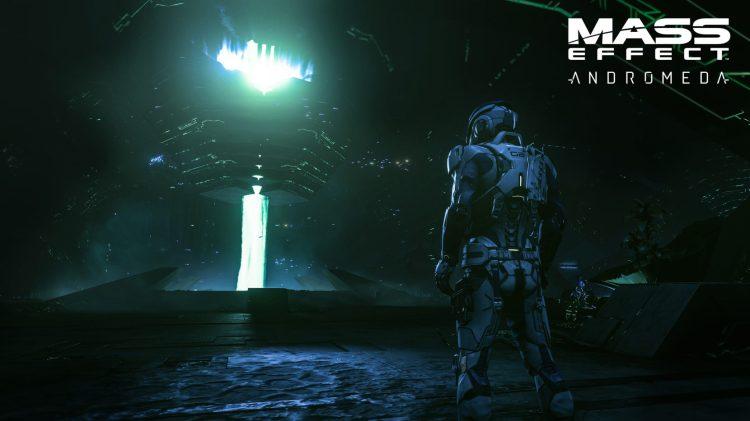 Mass Effect Andromeda 4K screenshot from PS4 Pro
