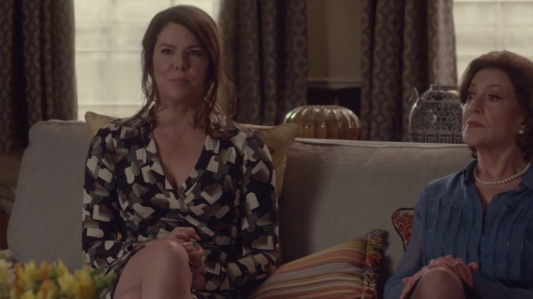 Lorelai and Emily | Gilmore Girls: A Year in the Life.
