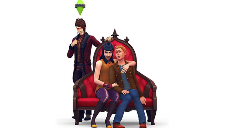 The Sims 4 Vampires Render