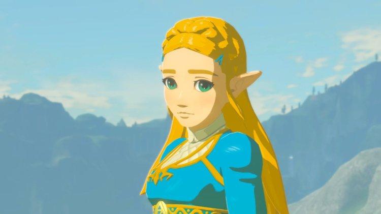 Princess Zelda Standing