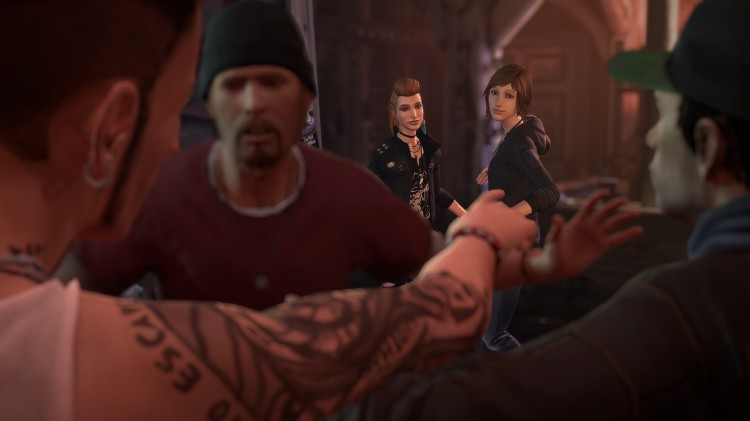 Screenshot from Life is Strange: Before the Storm.